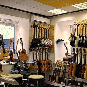 Музыкальные магазины Косы